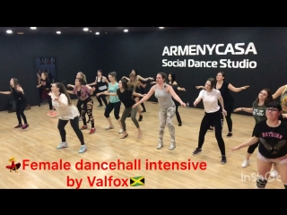 Female dancehall intensive by valfox