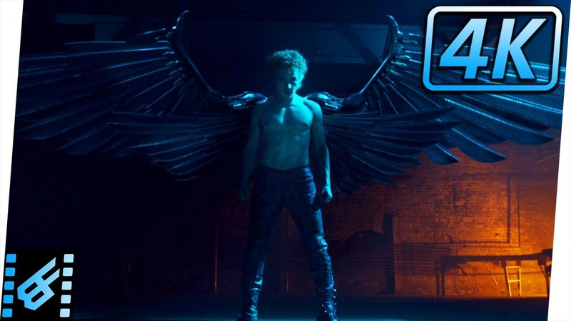 Angel Gets Metal Wings | X-Men Apocalypse (2016) Movie Clip