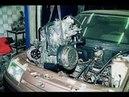 ВАЗ Снимаем Двигатель ВАЗ 2110 ВАЗ 2111 ВАЗ 2112