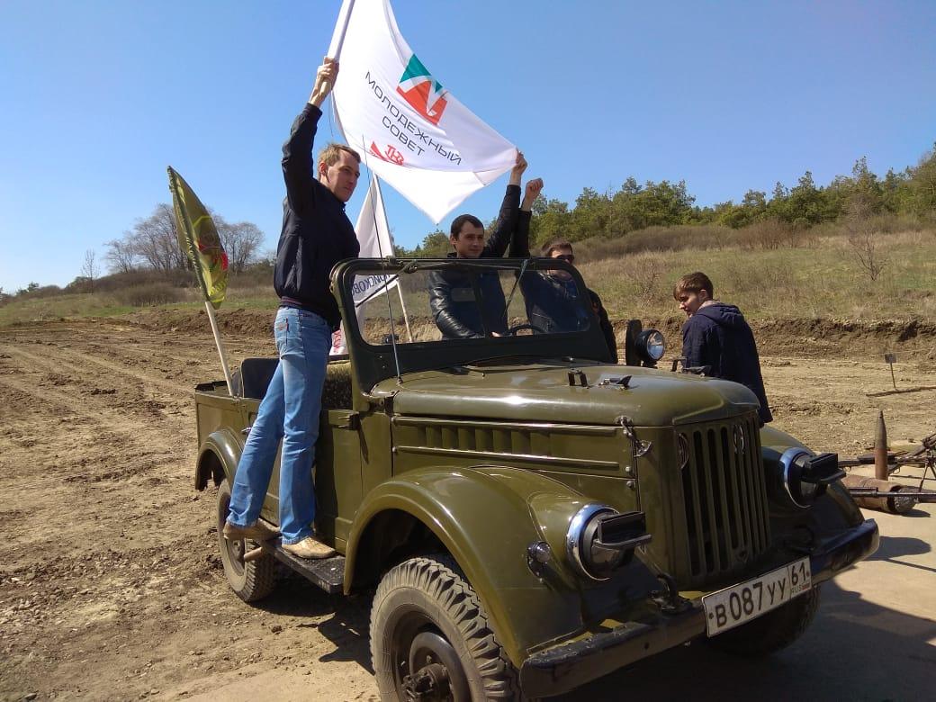 Молодые сотрудники «Красного котельщика» посетили места сражений за Миус-фронт