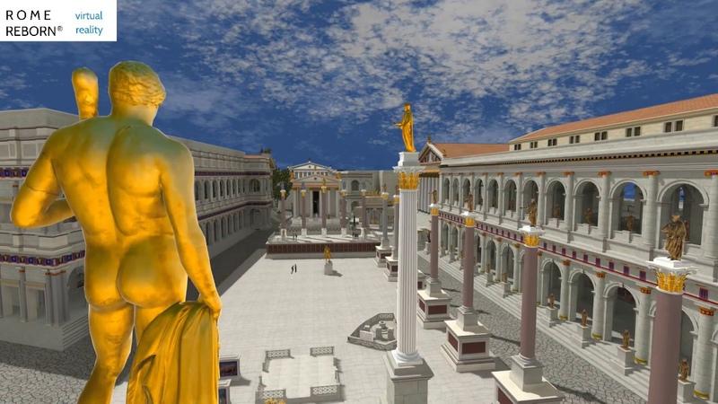 Rome Reborn Presents the Roman Forum