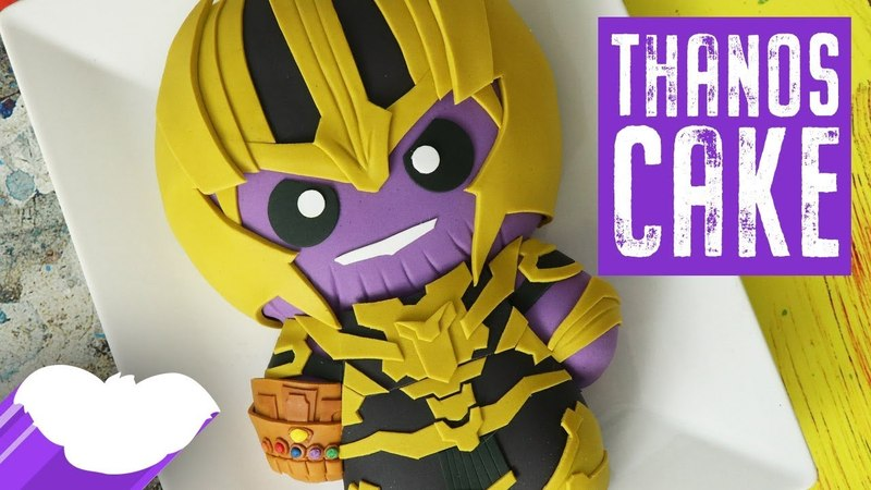 Lakomkavk AVENGERS Thanos Cake Infinity War Koalipops How To