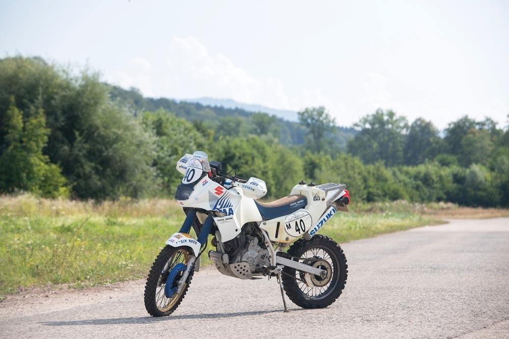 Раллийный мотоцикл Suzuki DR650 Жиля Франкру