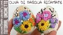 Tutorial Ricamare Uova di Pasqua Amigurumi 3 (sub. Eng y Esp.)