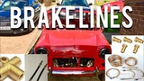 Classic Mini Restoration Brake Lines &amp Unions