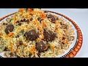Afghan Kofta Pulao Uzbeki کوفته پلو ازبکی