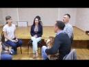 Ансамбль старинной казачьей песни Казачья справа Как жиды гадали Репетиция