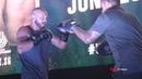 Fight Night Singapore: Donald Cerrone Leon Edwards Open Workout Highlights