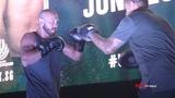 Fight Night Singapore Donald Cerrone &amp Leon Edwards Open Workout Highlights