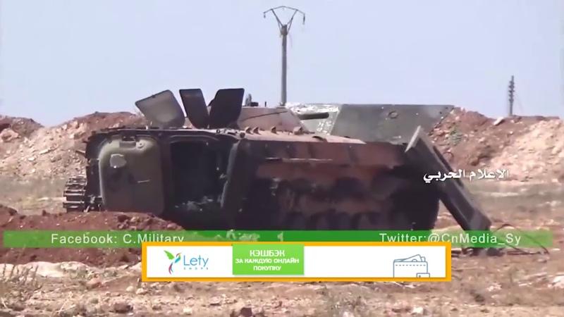 Сирия Спецназ Тигры жёстко расфигачили колонну боевиков ан нусра в Алеппо