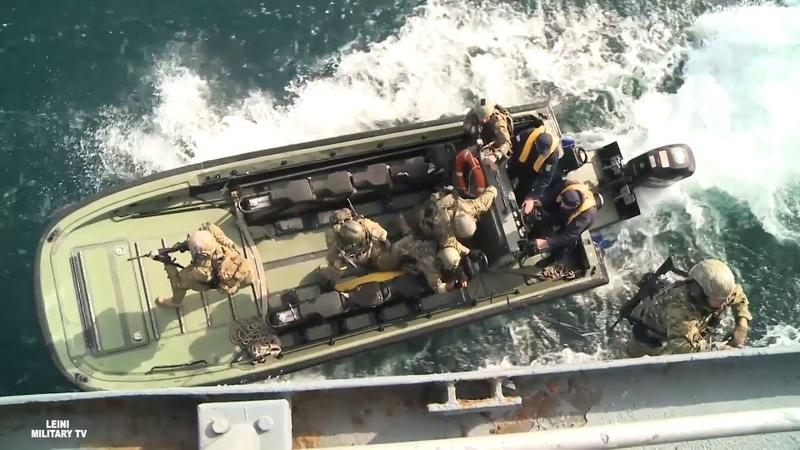 Учения ВМС НАТО с береговой охраной Грузии в Черном море 2018 Sea Breeze 2018