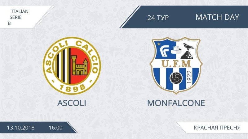 AFL18. Italy. Serie B. Day 24. Ascoli - Monfalcone
