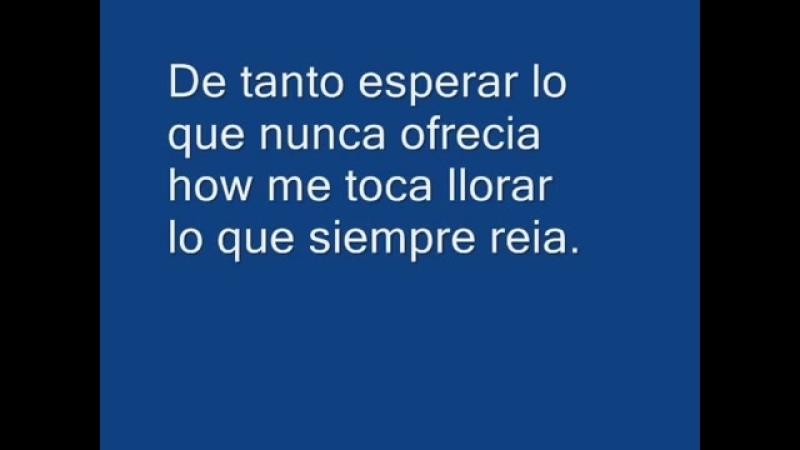 Me Olvide De Vivir Julio Iglesias (with on screen lyrics)