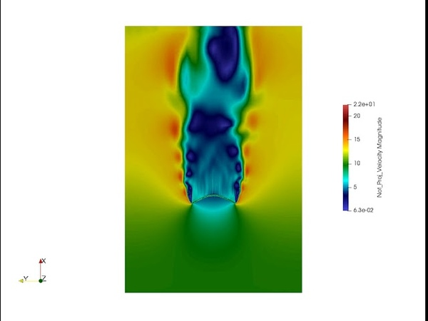 LS-DYNA CFD: FSI modeling of Parachutes with Porous Elastic Fabrics.