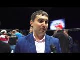Президент Федерации ММА Самарской области -Александр Гурьянов интервью после турнира БИТВА НА ВОЛГЕ 4