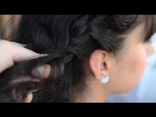 Три КЛАССНЫХ ЛЕТНИХ прически для КУДРЯВЫХ волос