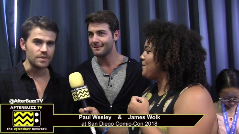 Paul Wesley James Wolk (Tell Me A Story) _ San Diego Comic-Con 2018