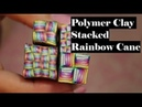 Rainbow Stack Cane