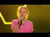 Девушка Классно поет песню 'Heavy' - судьи танцуют на шоу Голос Дети 2018