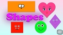Shapes Names of shapes Geometric SHAPES For Kids