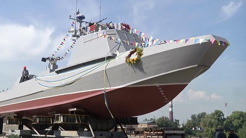 В Украине спущен на воду ДШК Кентавр который во всем превосходит скрепный Раптор