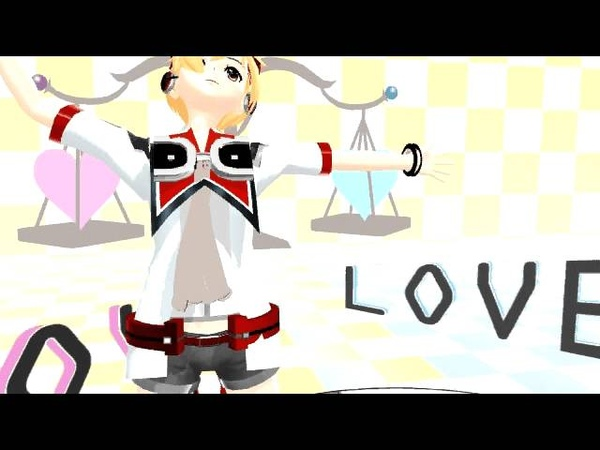 【MMD】 Hibiki Lui Dances to Ura-omote Lovers Two-Faced Lovers 【ヒビキルイ】