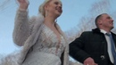 Крута, весільна, зимова прогулянка суперових молодят - Steep, bridal, winter walk of super-newlyweds