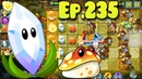 Plants vs. Zombies 2 || Magnifying Grass, Toadstool and A.K.E.E. - Lost City Day 31 (Ep.235)