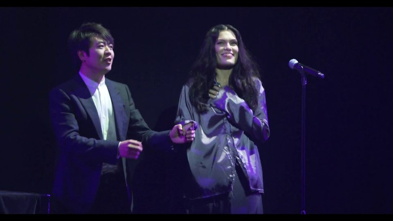 "Jessie JLang Lang: brand new version of ""Purple Rain"""