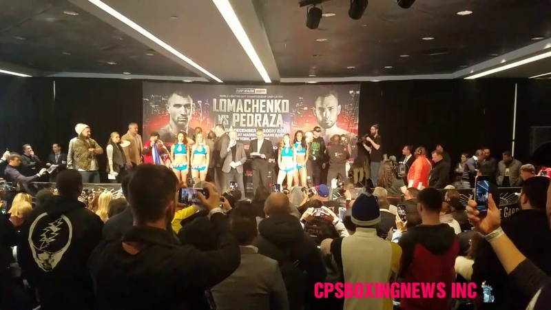 Vasyl lomachenko vs Jose Pedraza Weigh-in