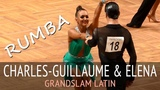 Charles-Guillaume Schmitt &amp Elena Salikhova Румба GOC2018 GrandSlam LATIN - 5тур