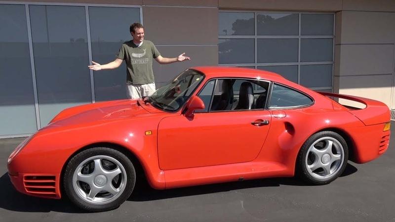 Porsche 959 это икона автомобилестроения за $1,5 миллиона