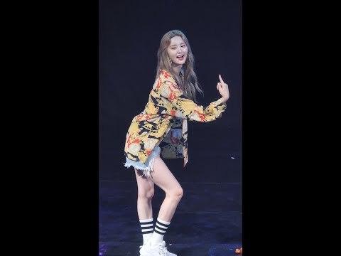 180518 이엑스아이디 정화 (EXID Jeonghwa) 낮보다는 밤 (Night Rather Than Day) 마산대학교 축제 공연 직캠