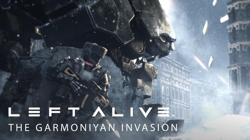 LEFT ALIVE - The Garmoniyan Invasion Trailer