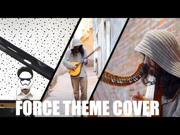 STAR WARS Force Throne Room Themes - Celtic Harp cover