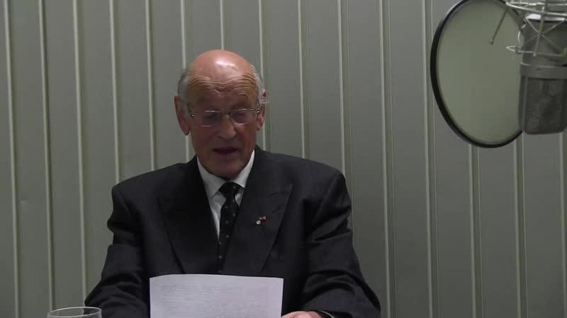 Dr Holger Strohm Vortrag aus seinen Büchern Demokratie in Gefahr und Asyl