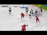 ICYMI Team Canada @hc_men and Team Russia @russiahockey traded goals all the way into overtime, but in the end, it was Ryan ORei
