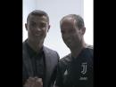 Первая встреча Роналду с новыми одноклубниками