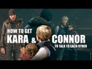 Detroit Become Human Steps Needed To Get The Scene Where Connor Apologizes To Kara
