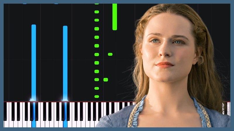 Westworld Main Theme [Piano Tutorial] (Synthesia) Logan Dougherty