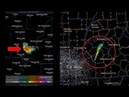 United States Mysterious phenomenon captured on a Radar of the National Meteorological Service