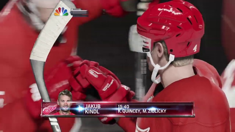NHL 15 - Canada vs Detroit Red Wings 06
