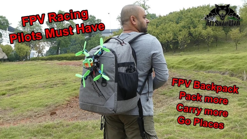 This is a must have FPV Backpack for FPV Racing Pilots