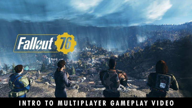 Fallout 76 You Will Emerge Introduction to Multiplayer Gameplay Video
