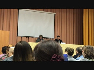 Встреча 21 ноября 2018 с жителями района «Братеево» 🐝 1