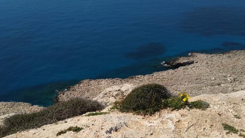 Кипр 2019 гора Каво Греко 2