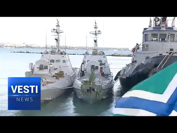 Kerch Revelations Ukrainian Frigates and Tugboat Were Filled to Brim With Weapons and Ammo