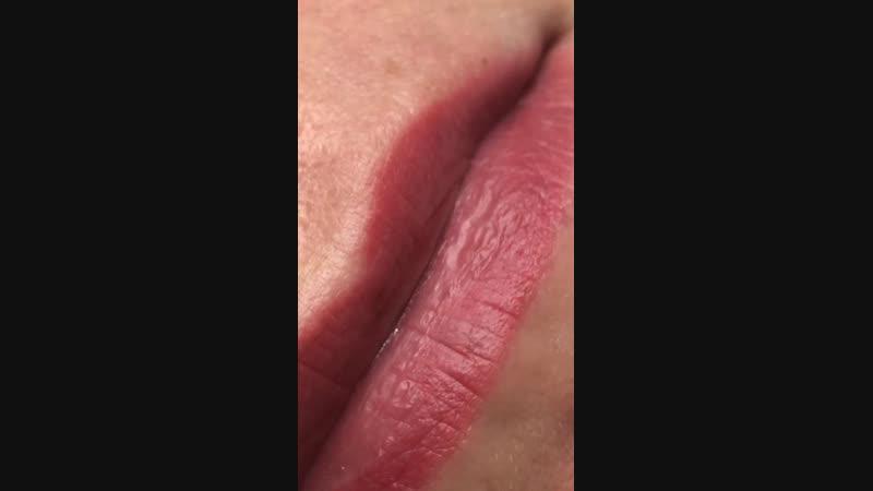 Зажившие губы
