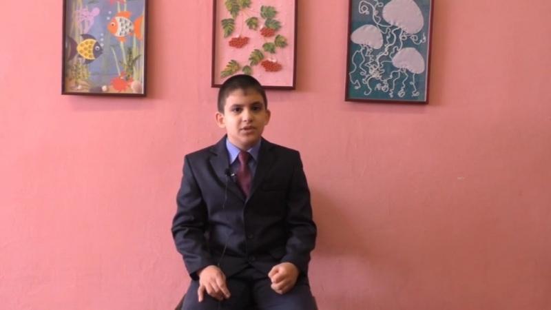 Рауф Гасымов (стихотворение О.Н. Едутовой); автор видео - Алексей Корсаков