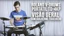 Roland V-Drums Portátil TD-4KP - Visão Geral com Guilherme Figueiredo